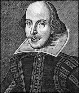martin dreschout etching of Shakespeare